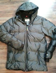 Charcoal Gray puffer coat